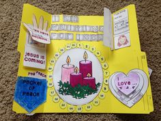 Advent Lap Book- 4 weeks of Activities for the Christmas Season!