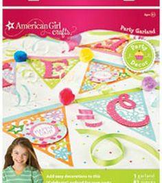 American Girl Party Garland: american girl: kids & teachers: Shop   Joann.com