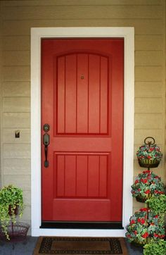 Benjamin Moore -- Raspberry Truffle is a chocolatey warm red that is a natural for a front door, or foyer. Description from pinterest.com. I searched for this on bing.com/images