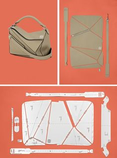 The fashion designer balances a prolific output with an unwavering attention to craft. Leather Bag Tutorial, Leather Bag Pattern, Diy Bags Patterns, Handbag Patterns, Leather Purses, Leather Handbags, Leather Jewelry, Leather Totes, Leather Tooling