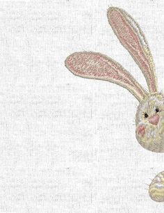 Machine Embroidery Design - Rabbit (2 sizes)