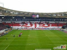 VfB Stuttgart x Bayern de Munique Mosaico da torcida do Stuttgart no jogo do último sábado!