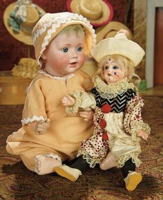 "The Memory of All That - Marquis Antique Doll Auction: 178 German Bisque Character, 247, by Kestner Known as ""Baby Jean"""