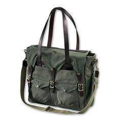 Filson Tote Briefcase in Otter Green