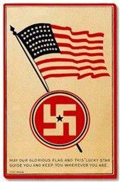 """Etykieta firmy aptekarskiej """"Swastika"""". Znak handlowy od 1922 roku."""