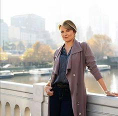 Lucy Lawless on Her New Series My Life is Murder and Fitting Into her Xena: Warrior Princess Costume for the Anniversary Lucy Lawless, The Doctor Blake Mysteries, Danielle Cormack, Xena Warrior Princess, Long Trench Coat, Jesse James, Faith In Love, Older Women, My Life