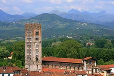 San Frediano - Lucca, Tuscany Italy