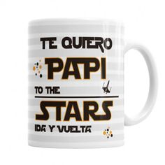Taza Papi Te Quiero - Star wars