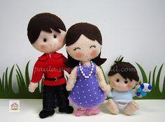 ♥♥♥ Uma família feliz ...