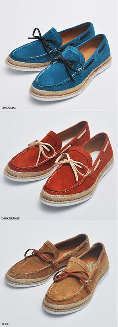 Hand Made Mens Suede Boat Shoes By Guylook