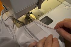 Sew Tessuti Blog - Sewing Tips & Tutorials - New Fabrics, Pattern Reviews: Tutorial/Video: Sewing elastic into waist tunnel casing in ONE step!