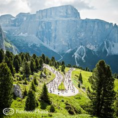 Passo Sella, Maratona dles Dolomites