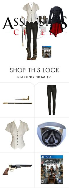 """""""Dame Evie Frye - Assassin's Creed Syndicate"""" by jodiestiehl ❤ liked on Polyvore featuring Revolver"""