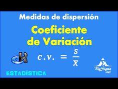 Coeficiente de Variacion - YouTube