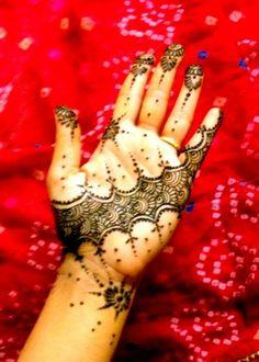 Moroccan Henna Design