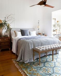 I couldn't resist sharing another image form lovely Mel's house - such a dreamy bedroom - our Lucia rug complete the gorgeousness of the whole situation . Styling and photography by the talented Louise . Image Form, Stay In Bed, Australian Homes, Breakfast In Bed, Dream Bedroom, Houzz, Rustic Decor, Your Design, Thinking Of You