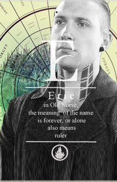Villain Quote of the Week Eric is the villain. And like others of his kind, comes by it with power in his voice. Divergent Fanfiction, Eric Divergent, Divergent Fandom, Insurgent Quotes, Divergent Trilogy, Divergent Insurgent Allegiant, Divergent Quotes, Tfios, Divergent 2014