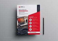 This corporate flyer is designed in Photoshop. The files included are help file and Photoshop PSD's. All PSD files are very well organized Creative Flyer Design, Creative Flyers, Creative Business, Corporate Flyer, Corporate Design, Business Flyer Templates, Business Flyers, Flyer And Poster Design, Flyer Size