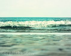 Beach Photography Print 10X8 Inches Wall Art Home by KornflakeStew, £10.00
