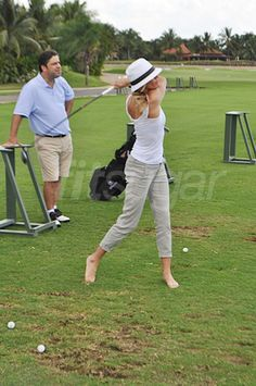 Golfing Burns About 266 Calories Per Hour!