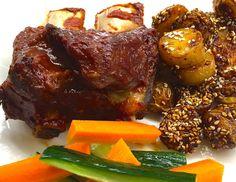 Voita ja Suolaa: BBQ Naudan Ribsit ja Karamellisoidut Puikulaperunat