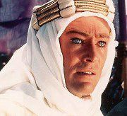 Peter O'Toole as Lawrence of Arabia, 1962