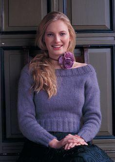 Rowan Digital Knitting Pattern for a Kiri Sweater to knit in Rowan Kid Classic Winter Sweaters, Sweaters For Women, Pattern Design, Free Pattern, Summer Knitting, Pullover, Digital Pattern, Sweater Fashion, Long Sleeve Sweater