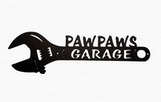 Excited to share this item from my shop: Pawpaw's Garage Crescent Wrench Metal Art Man Cave Decor Metal Art Decor, Outdoor Metal Wall Art, Metal Tree Wall Art, Scrap Metal Art, Metal Artwork, Modern Garage, Beach Properties, First Fathers Day, Plasma Cutting