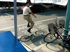 e la bici dove è?
