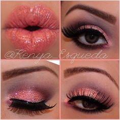 Valentine Pink Makeup LOOK!