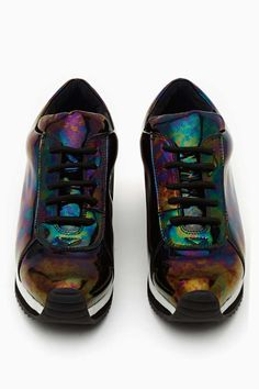 Jeffrey Campbell Gump Trainer - Oil Slick