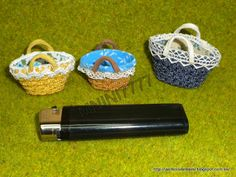 MINIS TO SHARE: lined straw basket tutorial i need to do this to the basket that i got for maddie's barbies