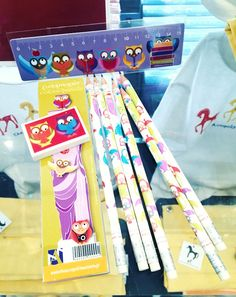 #kidstime #kids #pencils #rubber #coloringpencils #ruller #newin #gifts #acropolismuseumshop #acropolismuseum #museumshop #owls #caryatids #greekdesign #prepack #prepackart