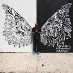 """""""stay (Up)lifted."""" Kelsey Montague art. #Whatliftsyou #Equalitylifts #NYC #StreetArt #Art #wifih"""
