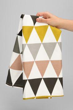 ferm LIVING Triangle Tea Towel #urbanoutfitters