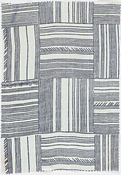 """Wiener Werkstatte, Vienna, Austria, 1903-1932; portfolio containing sample textile: """"Grunspecht."""""""