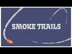 Smoke trails in After Effects (without plugins) - YouTube