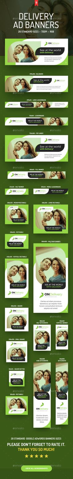 ONDelivery  Delivery Ad Banners Set — Photoshop PSD #banner #delivery web banners • Available here → https://graphicriver.net/item/ondelivery-delivery-ad-banners-set/14947884?ref=pxcr