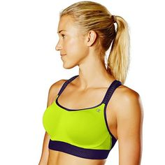 0522bcb643838 This women s Champion sports bra gives you the ultimate in support during  your most intense workouts.