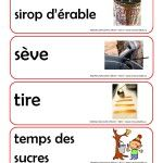 MDMmottempsdessucresP-page-003 Sugar Bush, Early Childhood Education, Avril, French, Teaching, Halloween, Infancy, Day Care, Visual Arts
