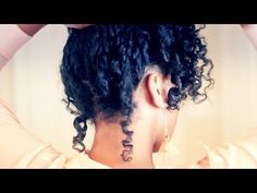 Leave In Conditioner Recipe & Romantic Curls Tutorial for Natural Hair I am going to have to visit the idea of twisting my hair before putting in curlformers... her definition was sick.