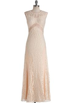 To look at later - Candlelit Soiree Dress. In celebration of all things vintage, your BFF is holding an ethereal, candlelit party - and this sleeveless lace maxi dress is the perfect fit! Vintage Inspired Wedding Dresses, Retro Vintage Dresses, Vintage Outfits, Vintage Fashion, Dresses For Sale, Cute Dresses, Pastel Dresses, Long Dresses, Prom Dresses
