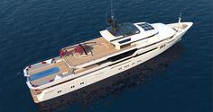 Tony Castro yachts unveils 68 metre concept - New Designs - SuperyachtTimes.com