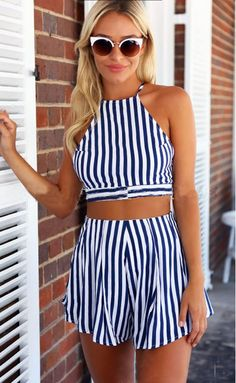 Womens Sexy Striped Print Playsuit Jumpsuits Backless Sleeveless Geometric Bodysuit Rompers Clothes Sets Overall