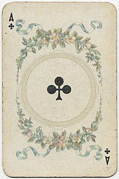 A♣ Deck: Mittelalter. Germany. Made: Dondorf. Date: 1889.