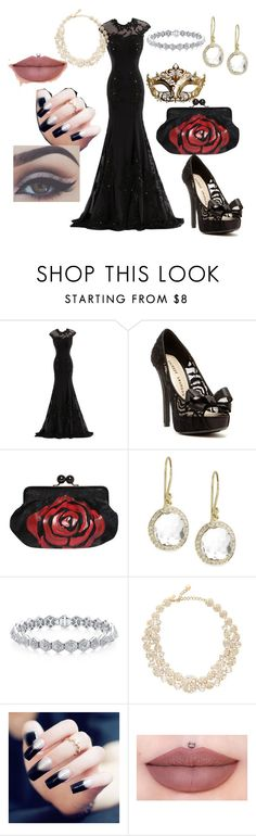 """Untitled #373"" by moniquedawson09123 ❤ liked on Polyvore featuring Chinese Laundry, Masquerade, Ippolita and Kate Spade"