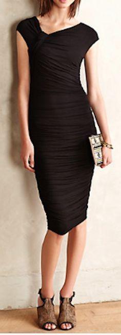 pretty asymmetrical neckline dress  http://rstyle.me/n/n8juapdpe