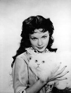 0 francoise arnoul with white cat Crazy Cat Lady, Crazy Cats, Celebrities With Cats, Celebs, Cat Boarding, French Actress, Cat People, Vintage Cat, Beautiful Cats