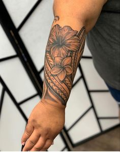 Polynesian Forearm Tattoo, Tribal Forearm Tattoos, Tribal Flower Tattoos, Polynesian Tattoos Women, Tribal Tattoos For Women, Samoan Tribal Tattoos, Tattoos For Women Half Sleeve, Dope Tattoos, Best Sleeve Tattoos