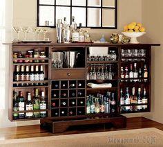 Как обустроить мини-бар в квартире или доме
